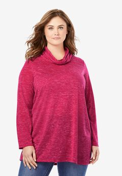Cowl Neck Tunic,