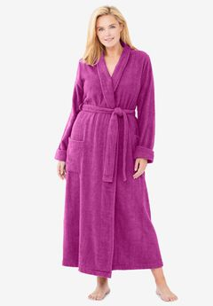 Long Terry Robe by Dreams & Co®,