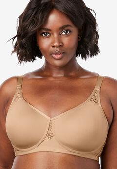 Stay-Cool Wireless T-Shirt Bra by Comfort Choice®,