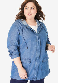 38c2b53608f Plus Size Jackets   Blazers for Women