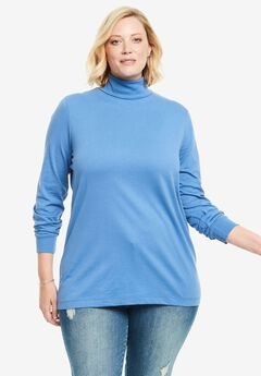 Perfect Cotton Turtleneck,