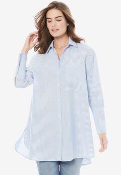 Wide Cuff Shirt by Chelsea Studio®,