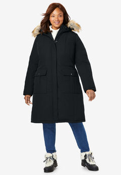 3309602c5d5 The Arctic Parka™ in Knee Length. Woman Within