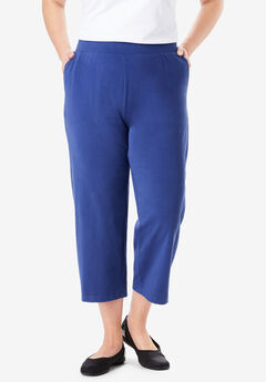 EveryWear Essential Cropped Pant, ULTRA BLUE