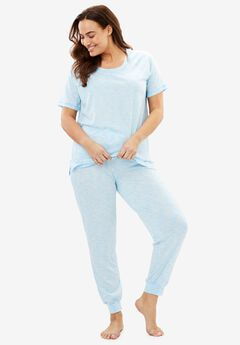 Knit Jogger PJ Set by Dreams & Co.®,