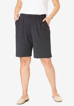26c9d7eed5f Plus Size Shorts   Capris for Women