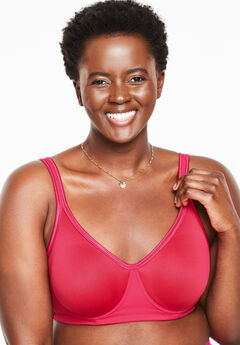 Underwire Spacer T-Shirt Bra by Comfort Choice®, PINK BURST