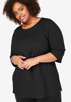 EveryWear Essentials™ Scoop Neck Tunic,