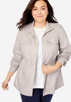 Sport Twill utility jacket, SOFT SAND