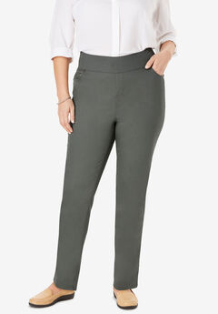 Smooth Waist Skinny Jean, OLIVE GREY