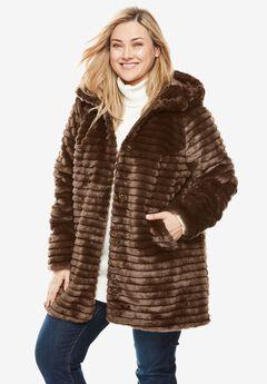 Faux Fur Coat,