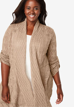 ebcbfdedba4 Women's Plus Size Cardigans & Cardigan Sweaters | Full Beauty