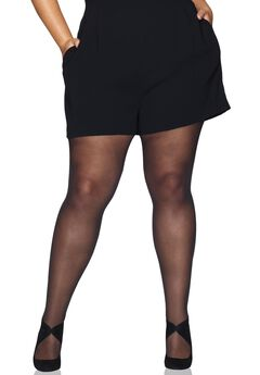 Hanes Curves Control Top Sheer Tights,