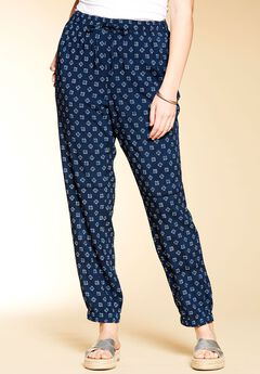 Straight leg jogger pants by Chelsea Studio®,