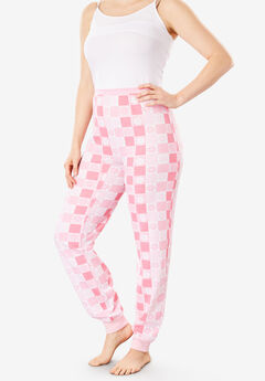 Thermal Lounge Pant by Comfort Choice®, LIGHT PINK SNOWFLAKE