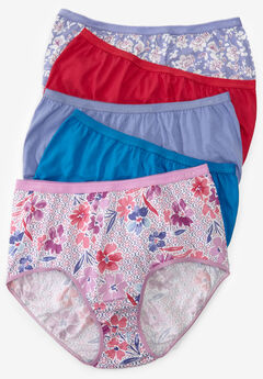 6eaf45fe3aa 10-Pack Pure Cotton Full-Cut Brief by Comfort Choice®