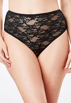 High-Cut Lace Panty by Comfort Choice®,