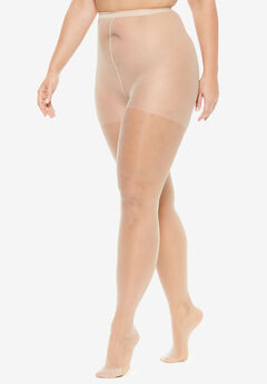2-Pack Sheer Tights by Comfort Choice®, NUDE