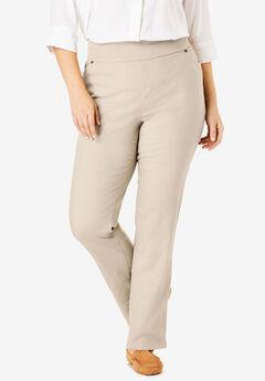366ba7647e162 Straight Leg Smooth Waist Jean. Woman Within