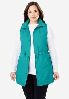 Taslon® Hooded Vest,