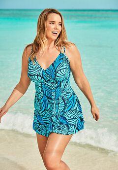 Two-Piece Swim Dress ,