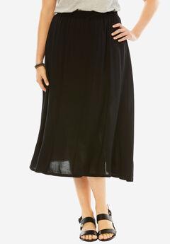 Soft A-Line Skirt,
