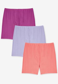 3-Pack Cotton Bloomer by Comfort Choice®, BRIGHT PACK