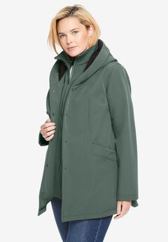 A-line Softshell Coat,