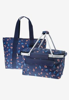 2-Piece Picnic Basket set,