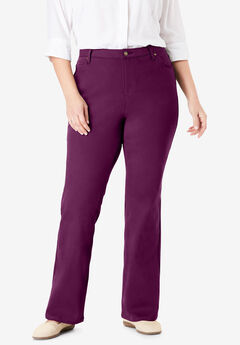 Perfect Bootcut Jean, DARK BERRY