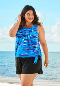 2-Piece Blouson Swim Set by Swim 365,