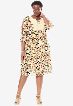 Crochet Bib Dress,