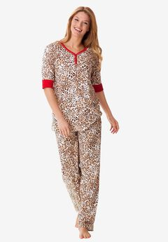 Print pj set by Dreams & Co®, ANIMAL PRINT