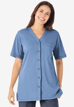 Short-Sleeve Baseball Shirt,