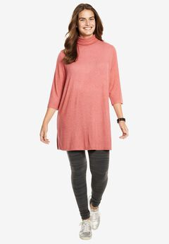 Cozy Turtleneck Tunic,