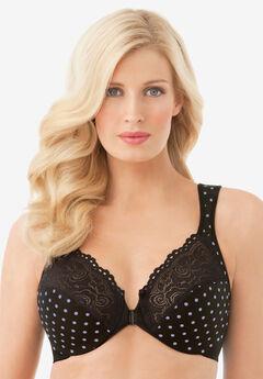Glamorise® Wonderwire® Front-Close Underwire Bra #1245,