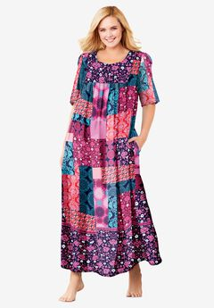 Mixed Print Long Lounger by Only Necessities®, MULTI PATCHWORK