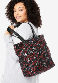 Printed Canvas Tote,