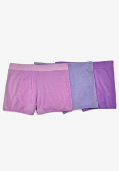 3-Pack Boyshorts by Comfort Choice®, LIGHT PURPLE PACK