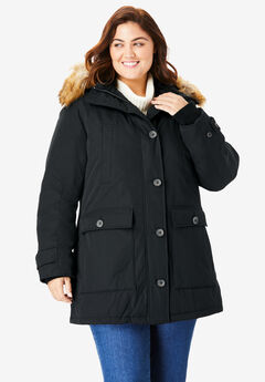 0a37cca3a8b Plus Size Quilted   Down Coats   Jackets for Women
