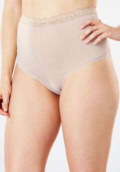 Lace-Trim Cheeky Hipster by Comfort Choice®,