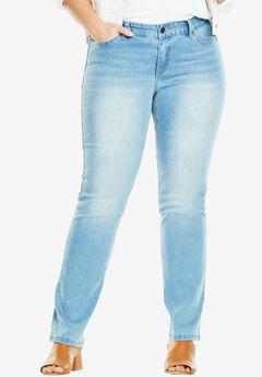 Curvy Slimmer Bootcut Jean,
