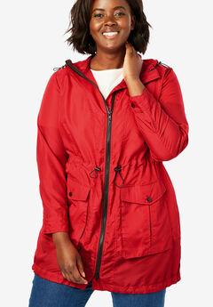 666af85e53c Packable High-Low Raincoat
