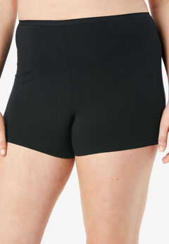 3-Pack Boyshort By Comfort Choice®, BLACK PACK