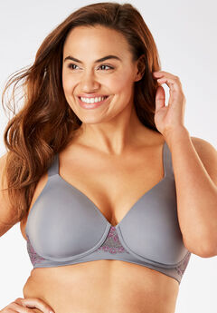 Leading Lady® Brigitte Lace Wireless T-Shirt Bra #5215,