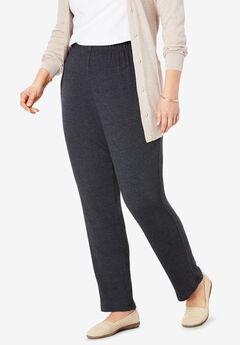 7-Day Knit Slim-Leg Pant,