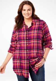 Plus Size Long Sleeve Shirts Blouses For Women Full Beauty