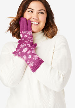 Knit Gloves,