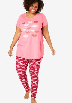 Graphic Tunic PJ Set,