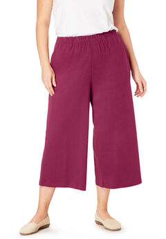 7-Day Knit Culotte,